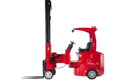 Flexi forklifts very narrow aisle articulating forklift